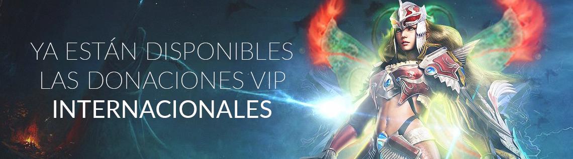 ¡Ya está disponible el VIP internacional!