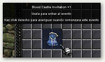 Blood Castle Invitation +1