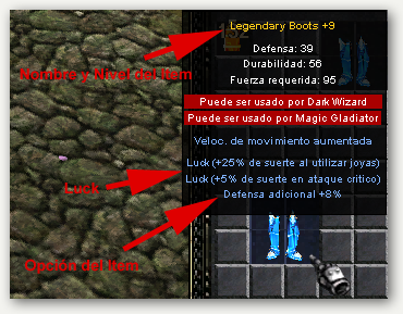 Legendary Boots +9+8+Luck
